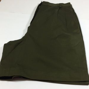 Lizsport Short Dark Green Size 14
